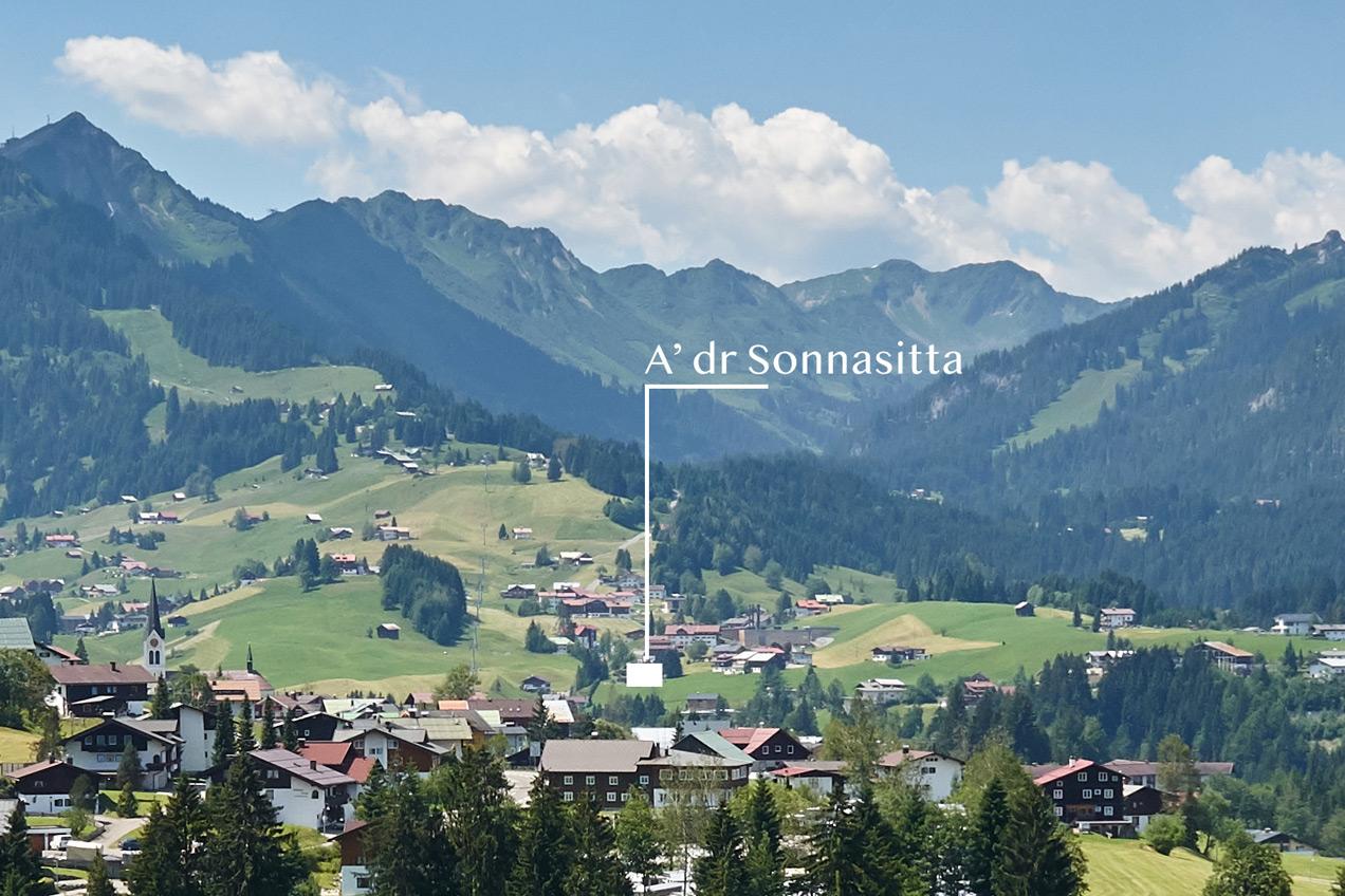 Lieblingsplatz mit Bergblick